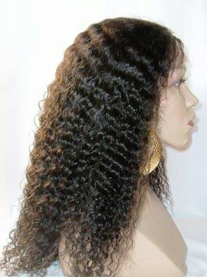 Custom order Remy Indian Hair Full Lace Wig 16""