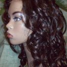 Custom order Remy Indian Hair Full Lace Wig 18""