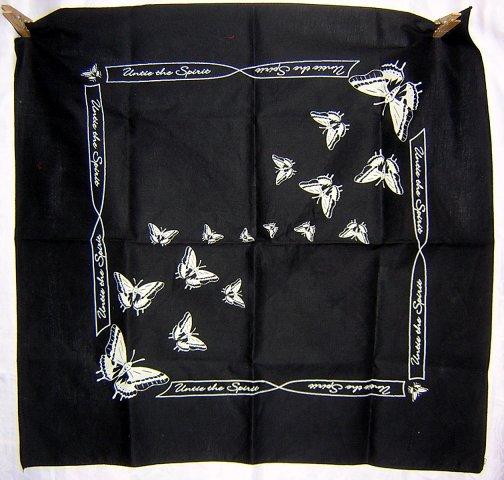 Untie the spirit butterflies scarf bandana kerchief
