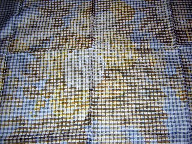 Cornelia James vintage silk scarf 60s Op Art Italy large ll1766