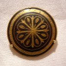 Damasquinado de Toledo brooch classic sunburst pin ancient goldwork ll1963