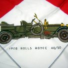 1904-15 Vintage autos scarf made in Italy for St. Michael UK ll1847