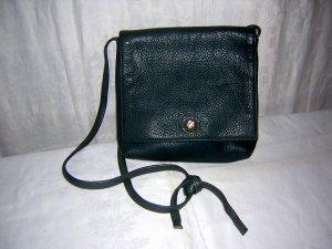 Joulies pebble leather shoulder bag purse teal unused vintage ll1491