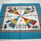 Zuni motifs teepees bows arrows bandana kerchief scarf ll1053