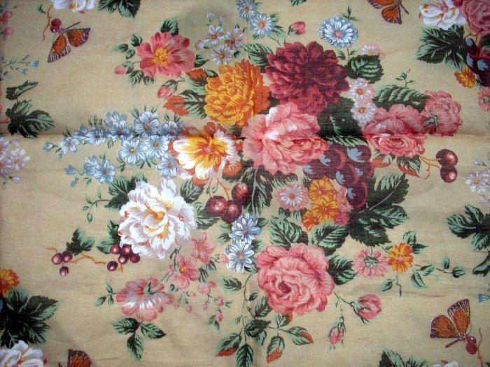 Sun Moto floral kerchief scarf lace border feminine summer cotton ll1062