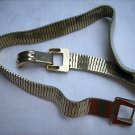 Coro Pegasus necklace gold plate collar buckle-like clasp rare vintage jewelry ll1086