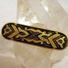 Damasquinado de Toledo tie clip, pendant, lapel pin versatile unisex vintage ll2303