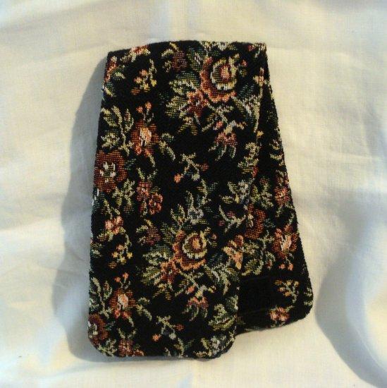 Totes petitpoint tapestry double eyeglasses holder unused vintage ll2834