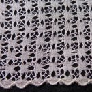 Linen and Saba threadwork lace ladies wedding hanky handmade vintage ll3335