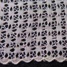 Linen and Saba threadwork lace ladies wedding hanky handmade vintage ll3335