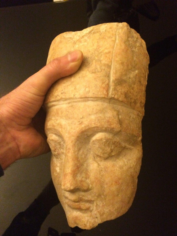 EGYPTIAN GODDESS NEITH HEAD
