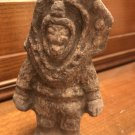 "Early Cerro Narrio Culture clay ""Astronaut"" 2nd to 1st millenium B.C (Ecuador)"