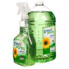 Green Works® All Purpose Cleaner (4 x (100oz + Free 32oz Spray Bottle))