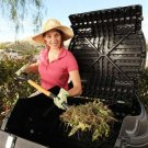 65-gallon Recycle Backyard Tumbler Composter