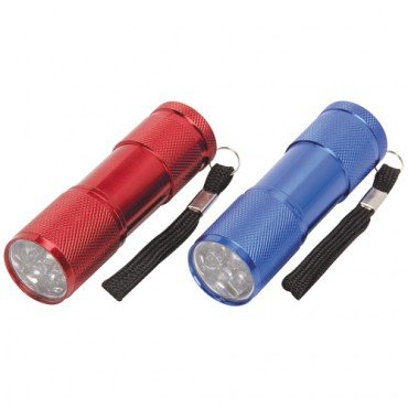 "Flashlights LED 3-1/2"" Nine, 2 Pack"