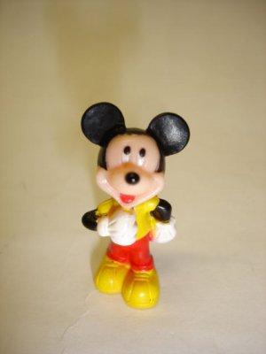 Used mini Disney Mickey Mouse plastic figure