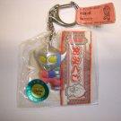 New 1997's Yutaka Ultraman Taro hard plastic figure keychain,made in Japan