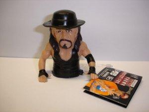 New WWE Wrestling Ultimate Thumb Wrestler Undertaker soft plastic action figure