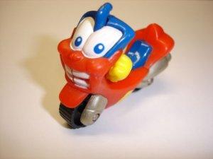 Used cute lovely RUMBO motorcycle diecast plastic model