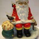 """Used Samlartomten 1992 Santa 7.5"""" tall ceramic figurine figure"""