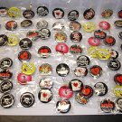 New lot of 68 PCs cute 2.5cm badge safty hat pins buttons birthday party gifts