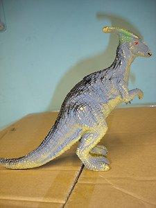 """Used 7"""" tall plastic dinosaur figurine figure"""