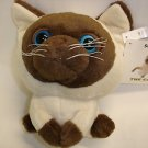 "Used Artlist Collection THE CAT Siamese 9.5"" tall stuffed toy plush doll"