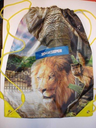 New Zookeeper drawstring bag backpack school travel bag
