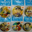 Lot of 6 Dragonball Dragon ball Z 5.5cm badge hat lapel pin birthday party gift