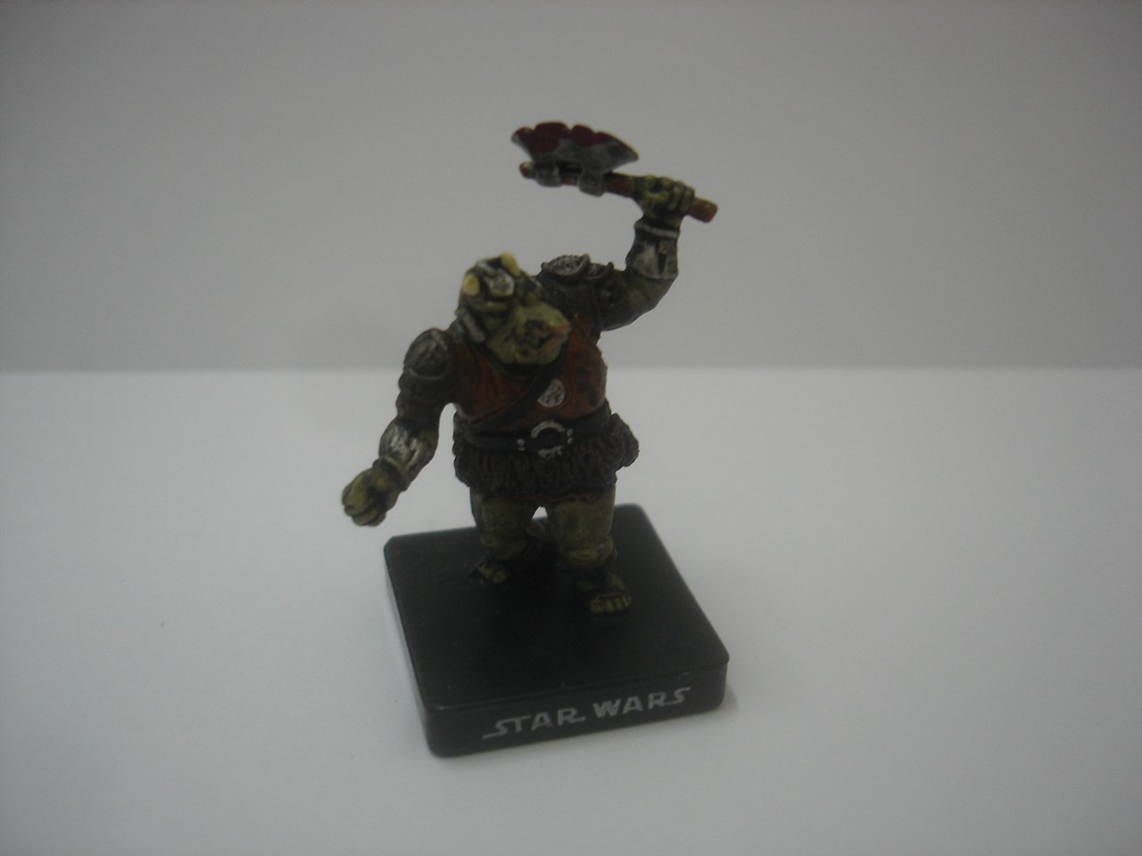 "2007 LFL Star Wars Gamorrean Guard 1.75"" small action figure"