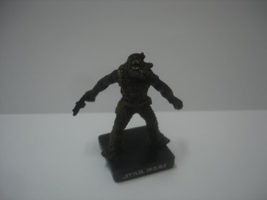 """2007 LFL Star Wars Wookiee Freedom Fighter 1.75"""" small action figure"""