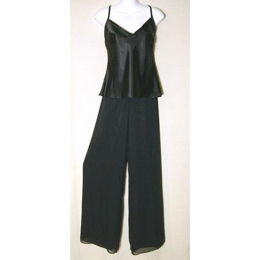 Romantic JESSICA HOWARD Black Pants Outfit- 12/ 14