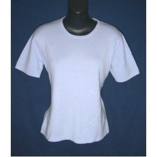 100% Cashmere TALBOTS Lt Blue Sweater Top- Lk New- Size S