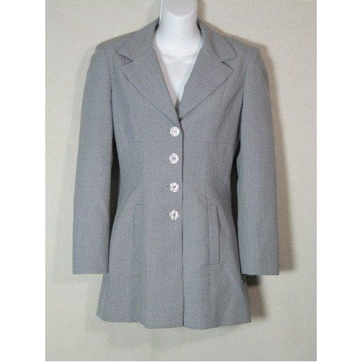 New Gray BEBE Blazer- Size 0