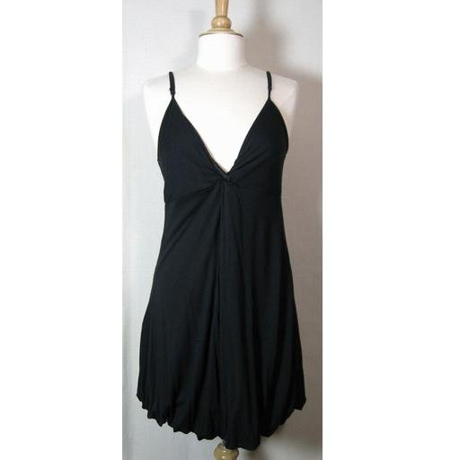 The Limited Black Balloon-Hem Dress Size L