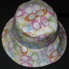 COACH Scribble Print Sun Hat Floppy Hat NWT