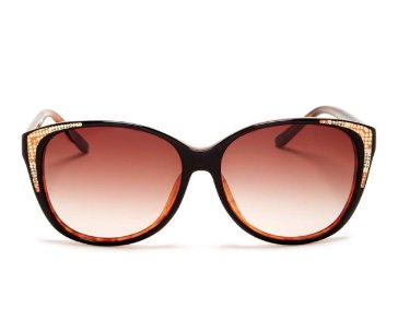 Ted Baker Karenza Cat Eye Sunglasses BLACK DEMI