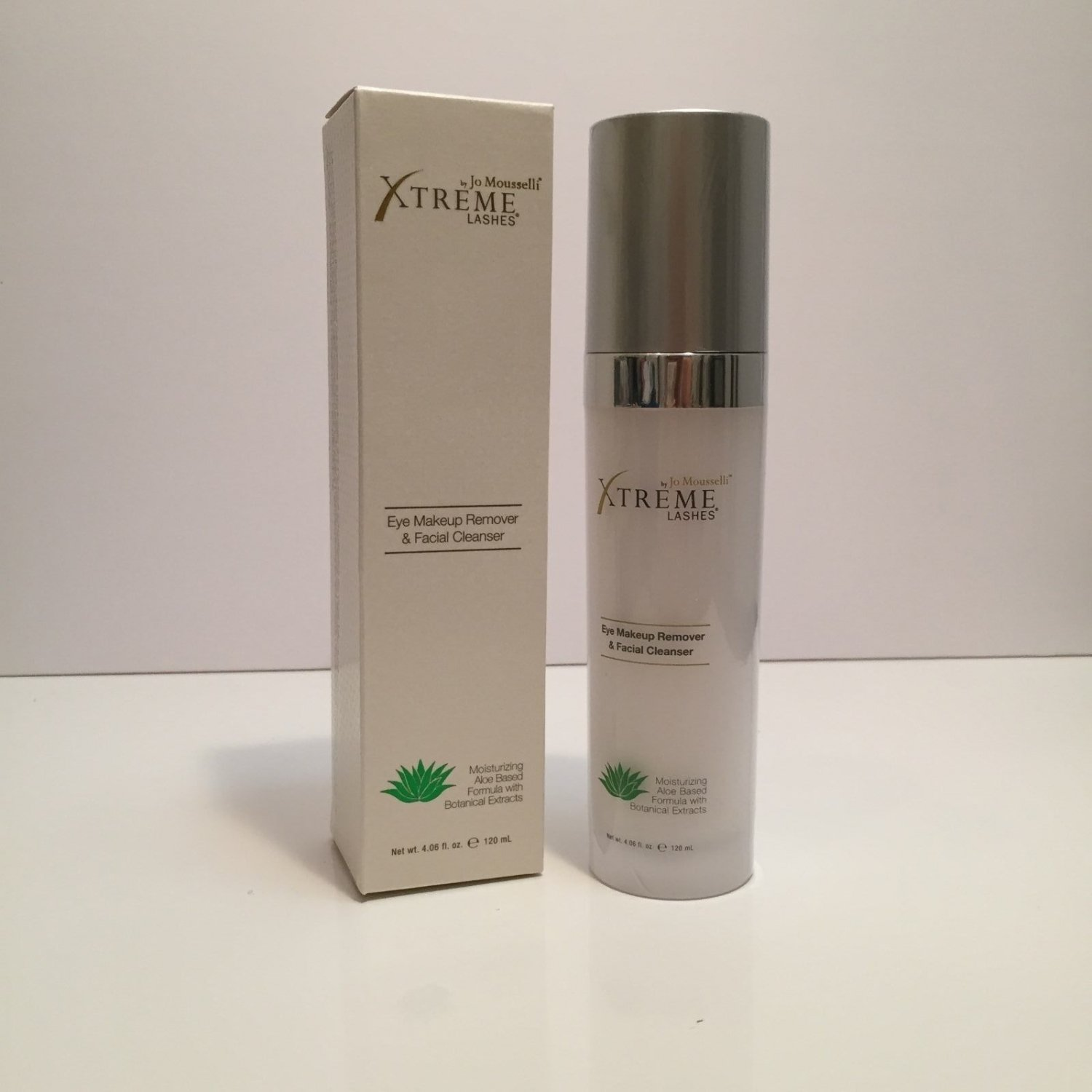 Xtreme Lashes® Eye Makeup Remover & Facial Cleanser 120mL Full Size