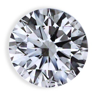 0.53 CARAT L SI3 ROUND LOOSE DIAMOND