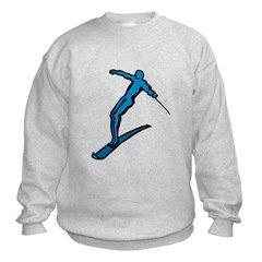 Water Skiier Sweatshirt