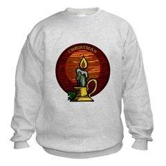Christmas Candle Sweatshirt