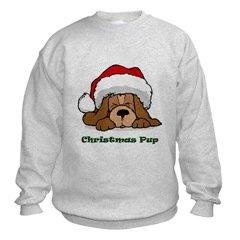 Christmas Puppy Dog Sweatshirt
