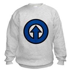 Blue Arrow Sweatshirt