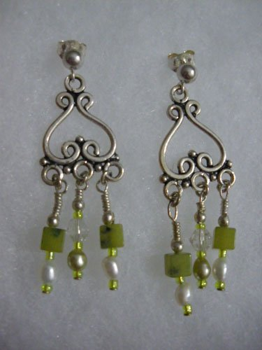 Green Quartz Chandeliers