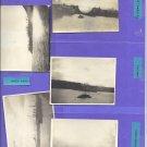5 Old  Snapshots WA Pt. Orchard, Tacoma, Pt. Angeles, Gettysburg Coastline, and Navy Yard Small