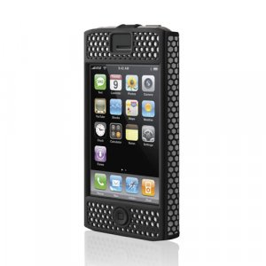 Belkin iPhone Case - Micro Grip - (Black) for 1G 1st Generation - F8Z258