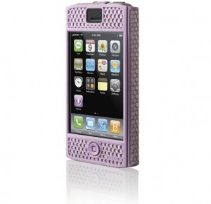 Belkin iPhone Case - Micro Grip - (Lavender) for 1G 1st Generation - F8Z258-LAV