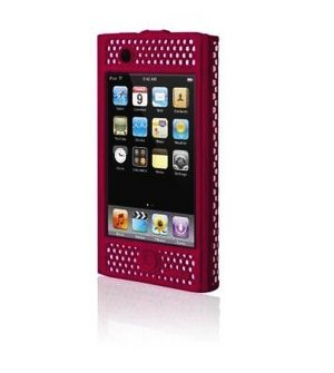 Belkin iPhone Case - Micro Grip - (Red) for 1G 1st Generation - F8Z258-RED