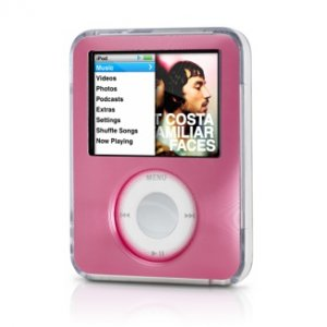 Belkin Remix Metal Case for iPod nano 3G 3rd Generation 4GB/8GB Video (Hot Pink) F8Z231-HPK