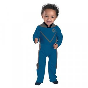 Fantastic 4 Movie - Mr. Fantastic Infant/Toddler Costume 12-18 Months